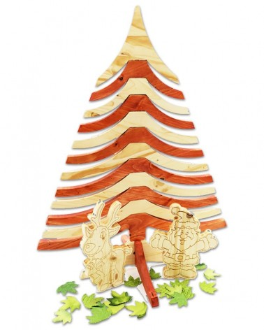 La Petite Fée, bijou en bois massif